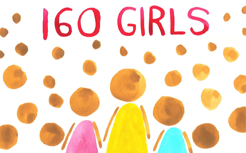 160 Girls Project video